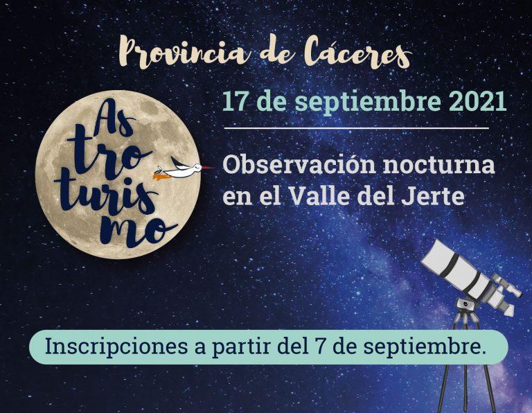 Observación nocturna en el Valle del Jerte