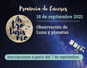 astrocaceres 18 de septiembre