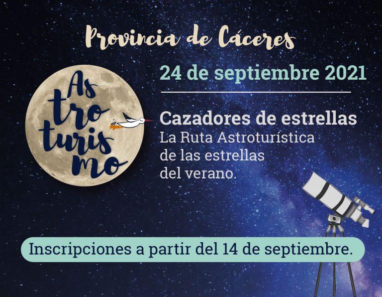 Cazadores de Estrellas. La ruta astroturística de las estrellas de verano