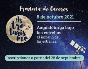 astrocaceres 8 de octubre